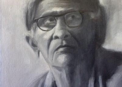 "Grandma (Oils 9""x12"")"
