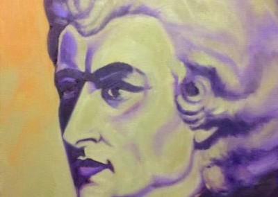 "Mozart (Oils 11""x14"")"