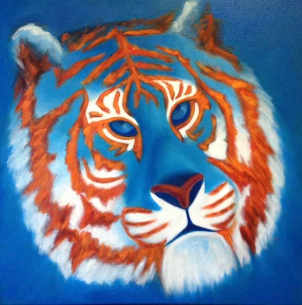 Kritika Bala Lone Tiger Art Folsom California