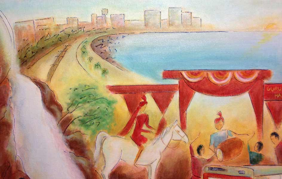 Young Love in Mumbai (detail 5)