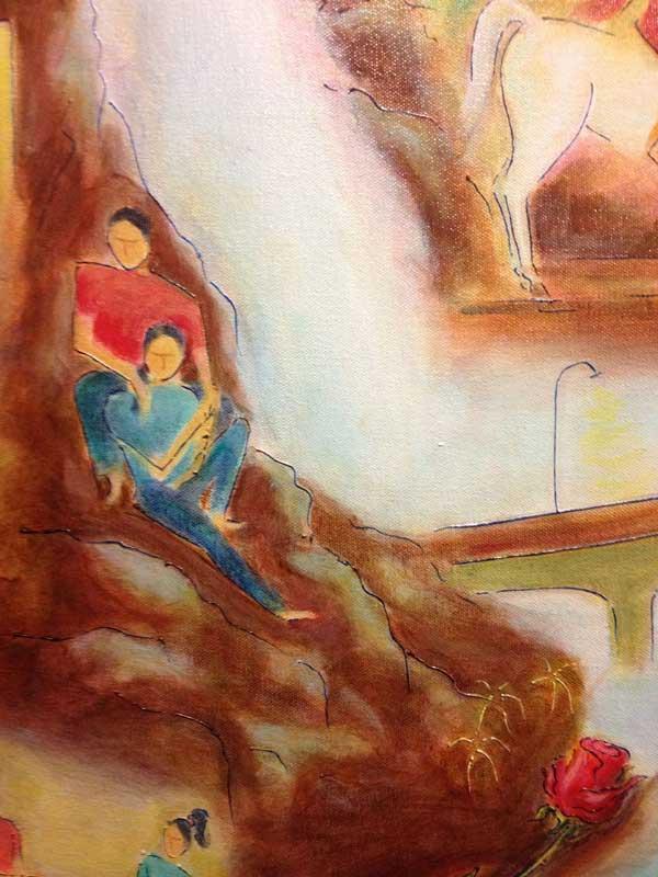 Young Love in Mumbai (detail 6)