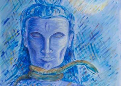 """Shiva (Acrylics 30""""x40"""")"""