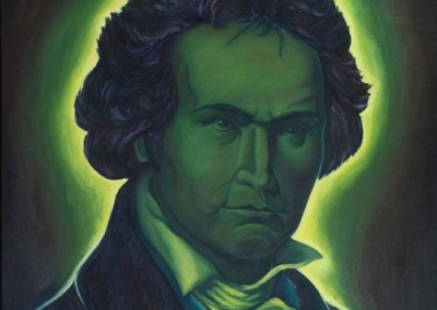 "Beethoven (Oil paints 24""x30"")"