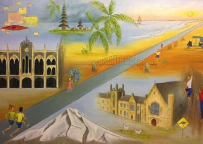 "Journey (Oils/Acrylics 36""x24"")"