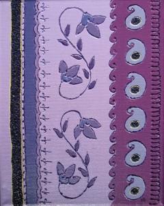 Purple Paisleys