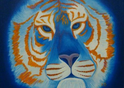 Big Cat Rescue Fundraiser (Oils 12x12)