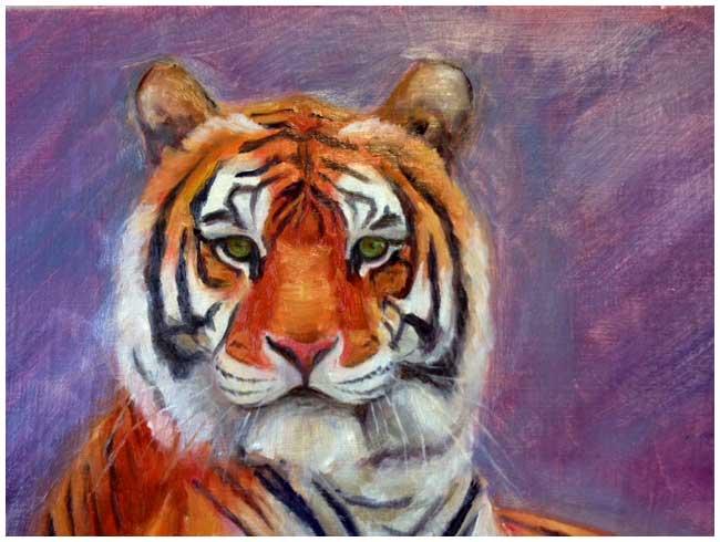 Lone Tiger Art Kritika Bala