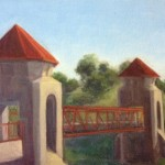 Johnny Cash Bridge - Plein Air Painting